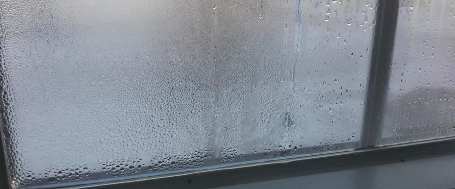 Condensación en las ventanas